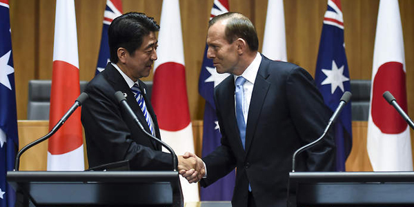 Japan-Australia Free Trade Agreement (JAEPA) begun on 15 January 2015
